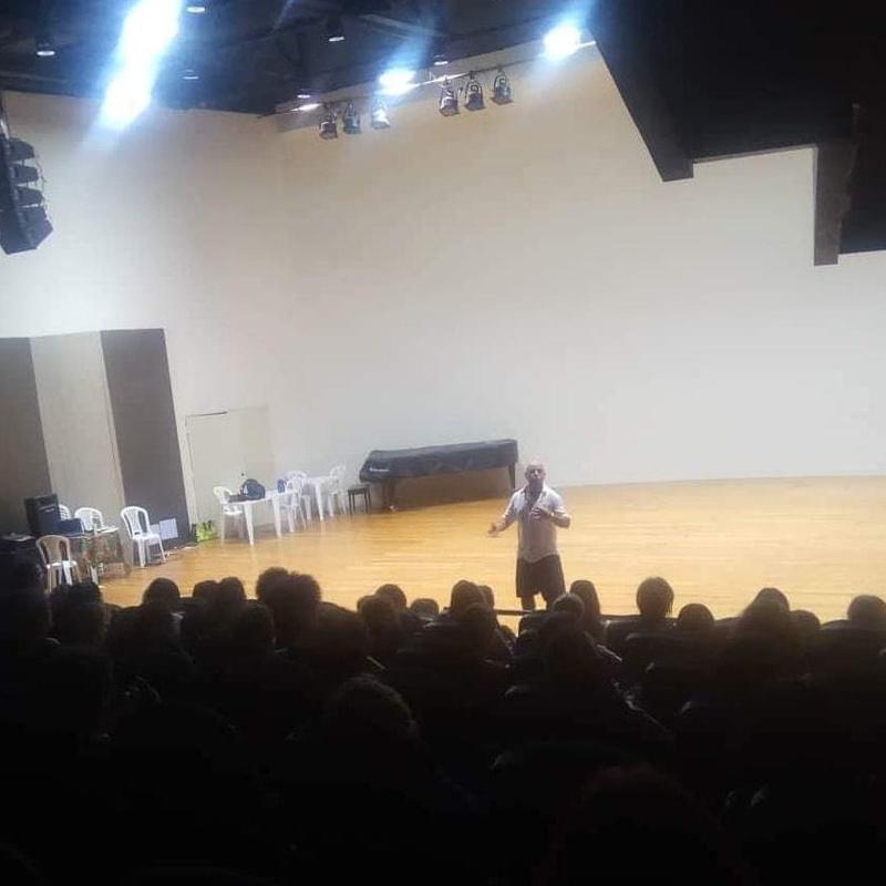 Augusto Madalena en el Encuentro Nordestino de Biodanza Paraiba-Brasil (Septiembre 2018)