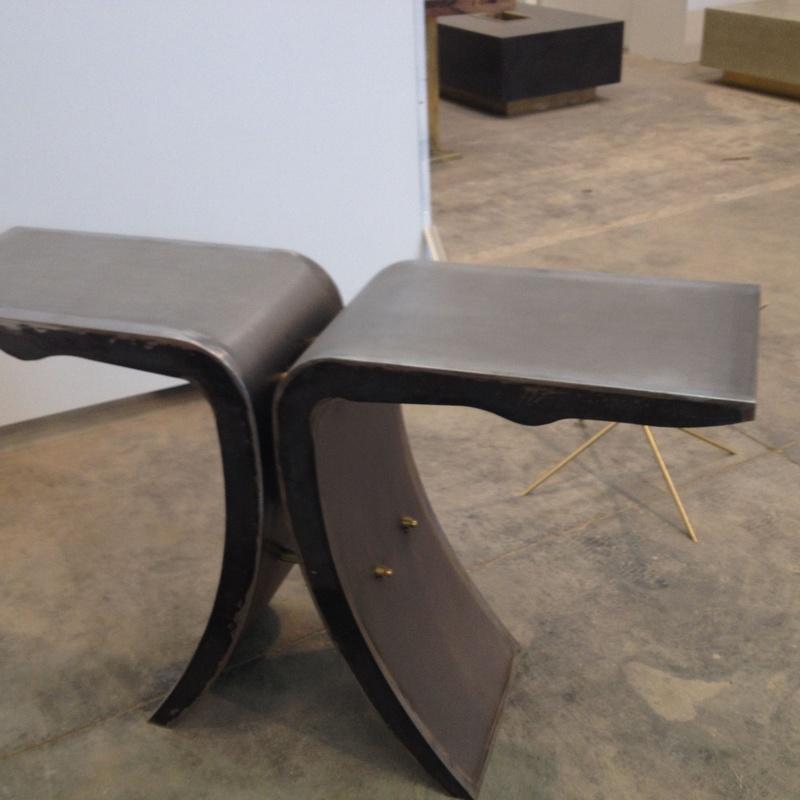 Mesas de hierro: Productos y servicios de Cerrajería Titulcia