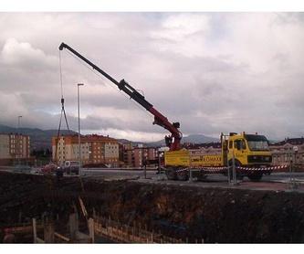 Alquiler de maquinaria : Servicios de Transportes y Grúas Lomax