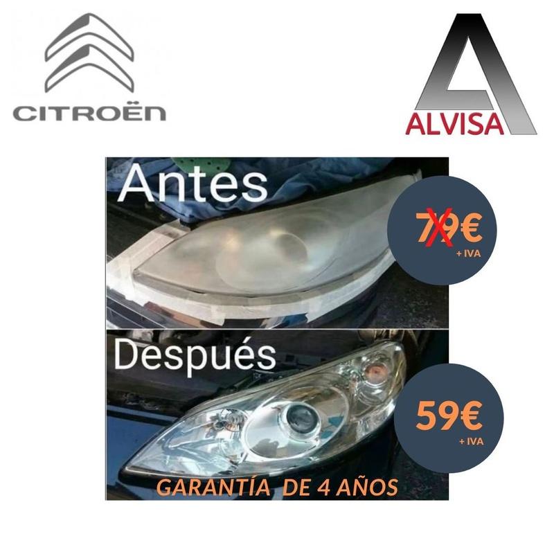 PULIDO DE FAROS: Catálogo de Concesionario Citroën, ALVARO VILLACAÑAS
