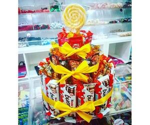 Supertarta de chocolatinas para cumpleaños en Lanzarote