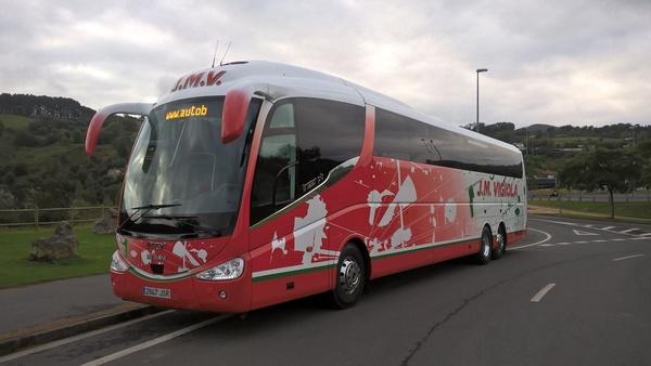 Bus 71 plazas: Servicios de J. M. Vigiola