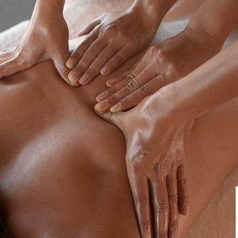 TALLER DE MASAJE PARA PAREJAS: Servicios de Masaje Deportivo Relax