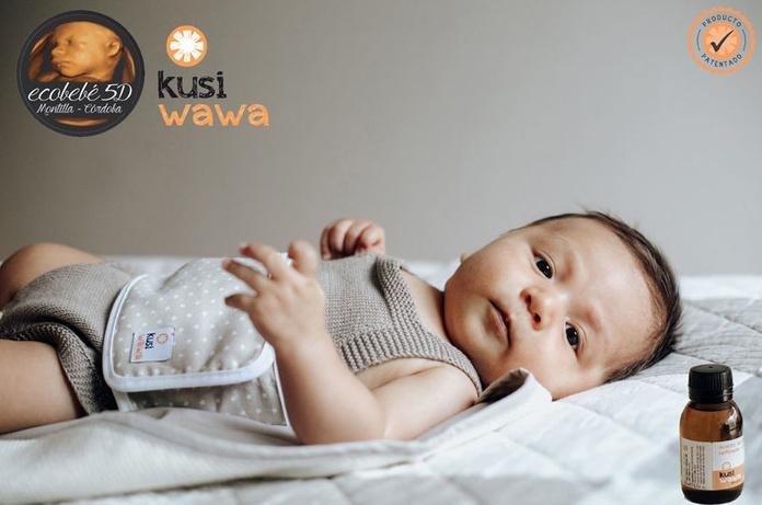 cinturón anticólico lactancia del bebé