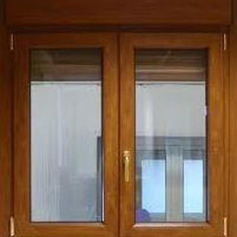 Carpintería PVC: Productos y Servicios   de Cerrajería Mafesa