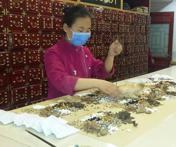 tratamientos con farmacopea china
