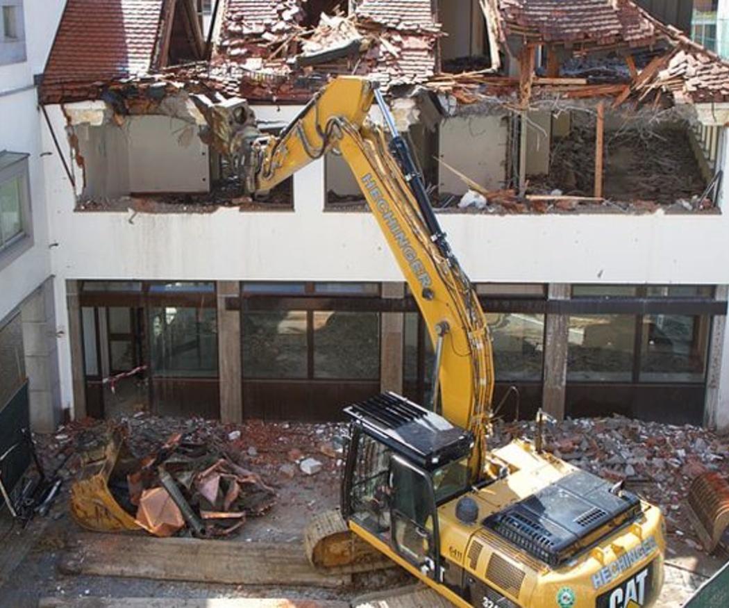 Demoler y construir de nuevo