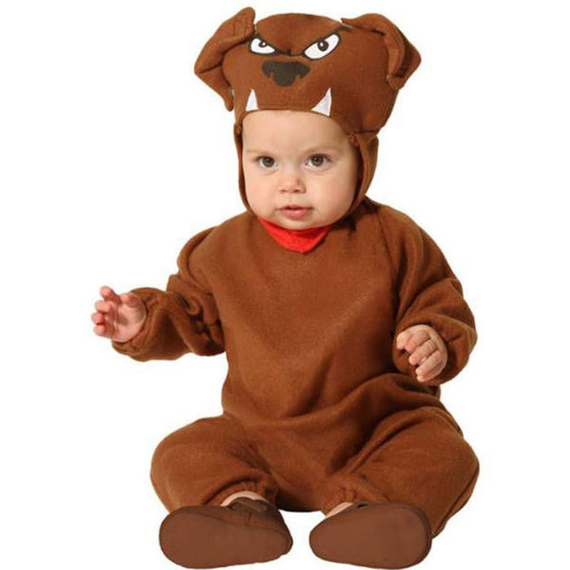 Disfraz perrito marrón bebé