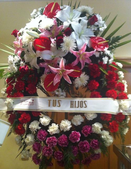 Servicios Funerarios de Miranda, servicio de floristería