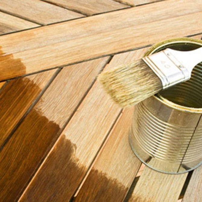 Recomendaciones para abrillantar la madera