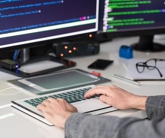 Diseño web: Servicios de Informática Valdespartera