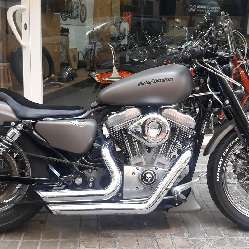 Harley davidson , bobber , choppers , sportster , custom , motorcycle ,old school , personalización harley davidson valencia , customizaciom moto