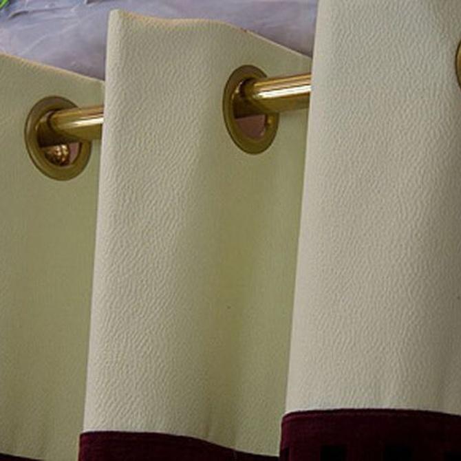 Ideas para combinar cortinas y estores