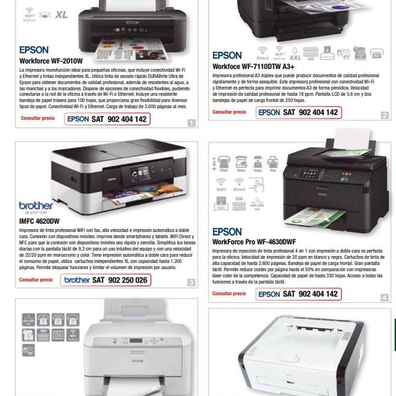 Máquinas de oficina: Catalogo de Arpoval