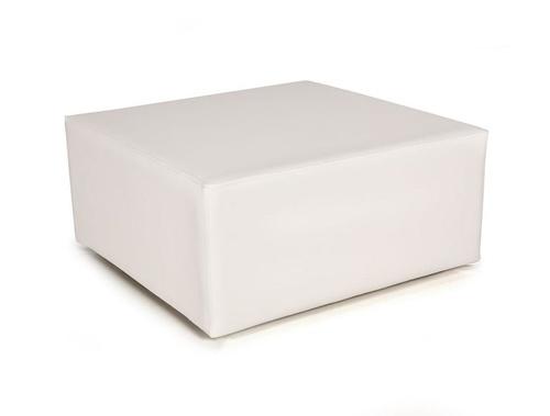 Mesa cuadrada color blanco