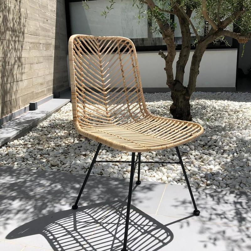 silla fibra natural
