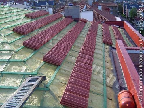 Aislamiento térmico en cubiertas para una mejora de la eficiencia energética