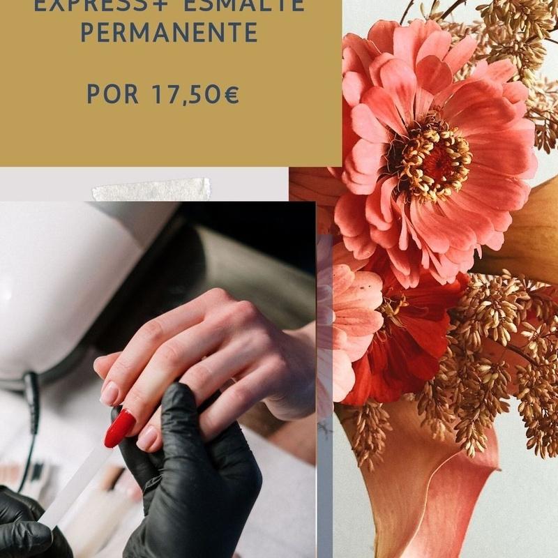 Manicura Express + esmalte permanente: Servicios de Duoestetica