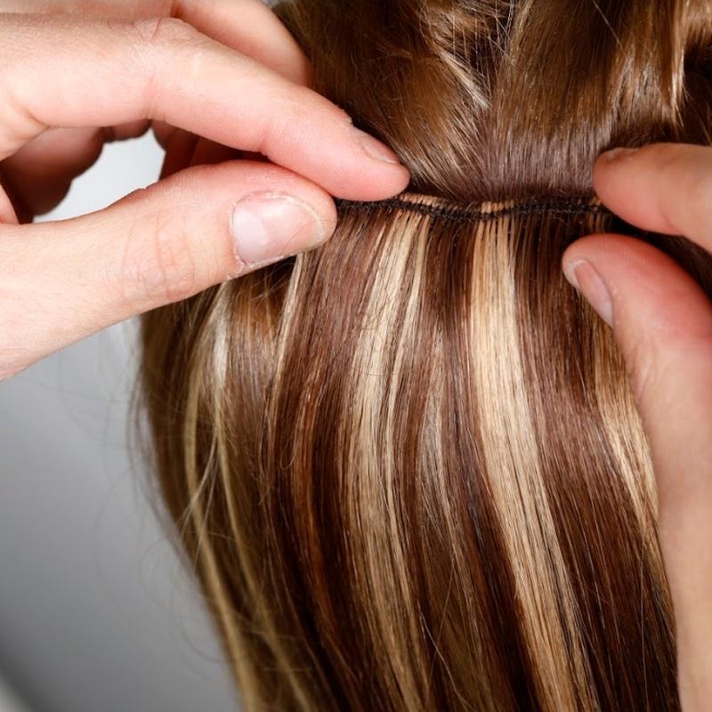 Extensiones de cabello: Servicios de Salón de Peluquería y Estética Iraga