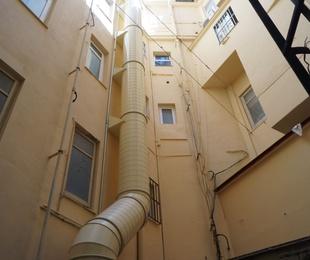 Tubería vertical