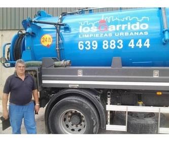Desemboces de tuberías: Servicios de Los Garrido Limpiezas Urbanas