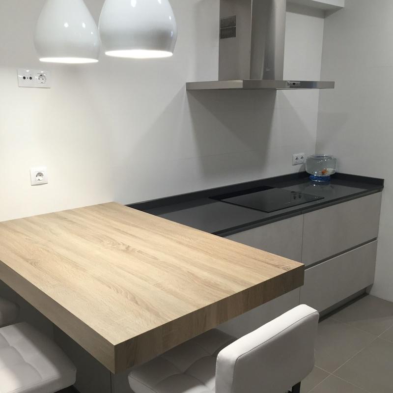 Reforma de cocina y mobiliario — en Vitoria.