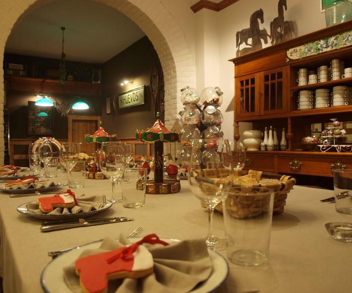 Cena empresa Navidad en Txoko Bilanda .