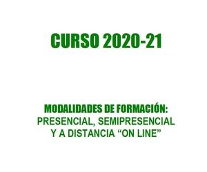 OFERTA FORMATIVA CURSO 2020-21