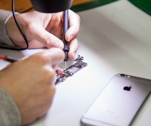 Servicio de reparación de teléfonos móviles