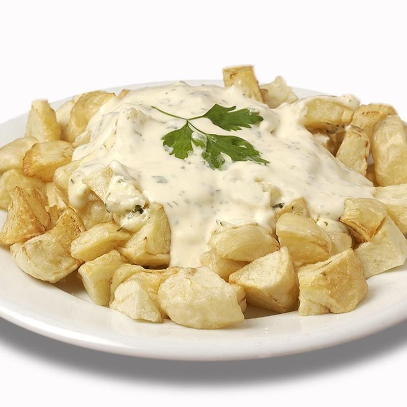 Patatas alioli 1kg: Nuestros productos  de Precocinados Mi Tierra