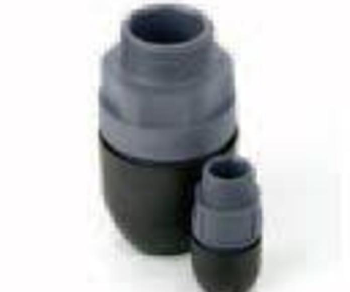Conectores roscados macho de polímero (rosca NPT)