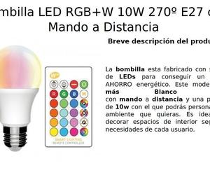 Bombilla RGB + BLANCO