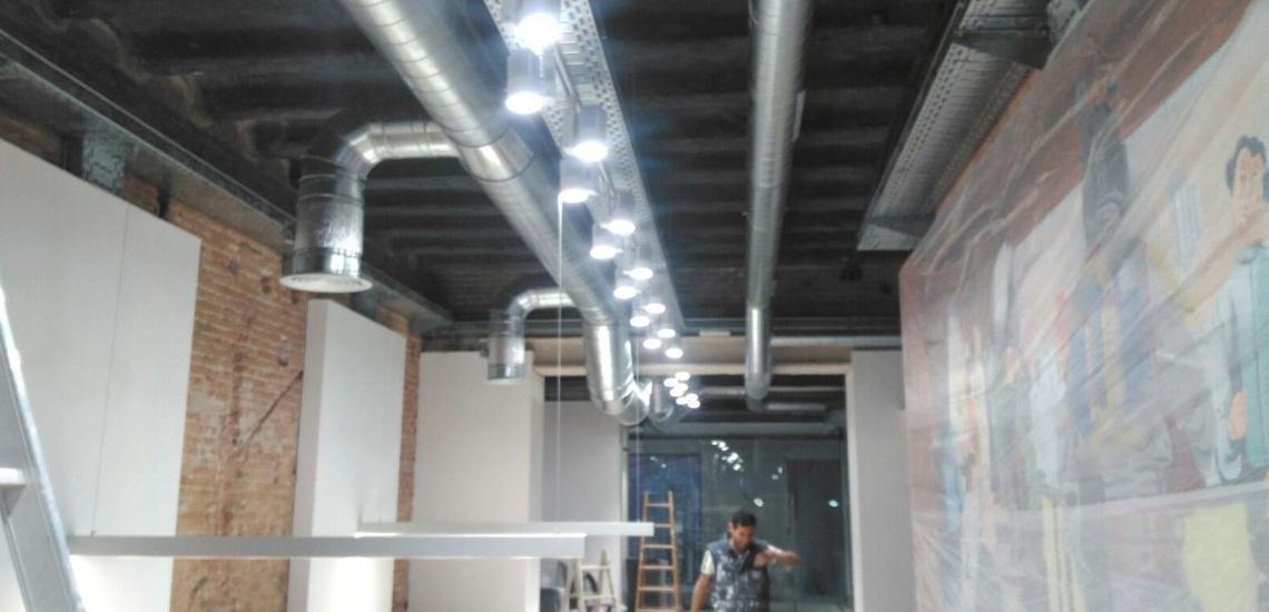 Conductos de fibra de vidrio en Viladecans