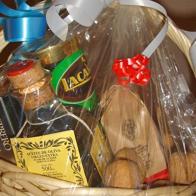 El origen de las cestas de Navidad