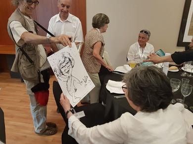 Animando encuentro 50 aniversario de la última promoción de Peritos Eléctricos 1968