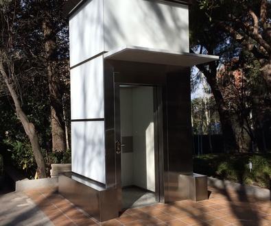 CRISTALERIA MADRID. Vidrios para exterior.