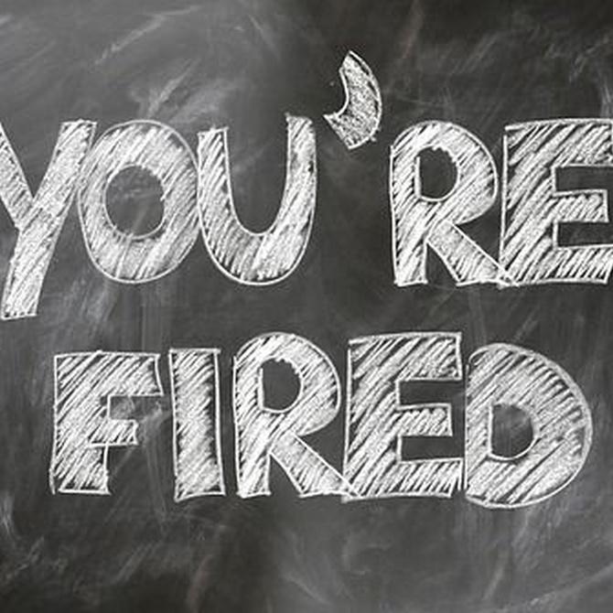 ¿Cómo actuar ante un despido?