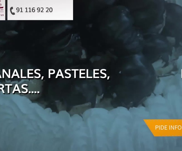 Empresas de catering en El Escorial | Pastelería Segado San Lorenzo