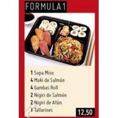 Menú mediodía: My Sushi