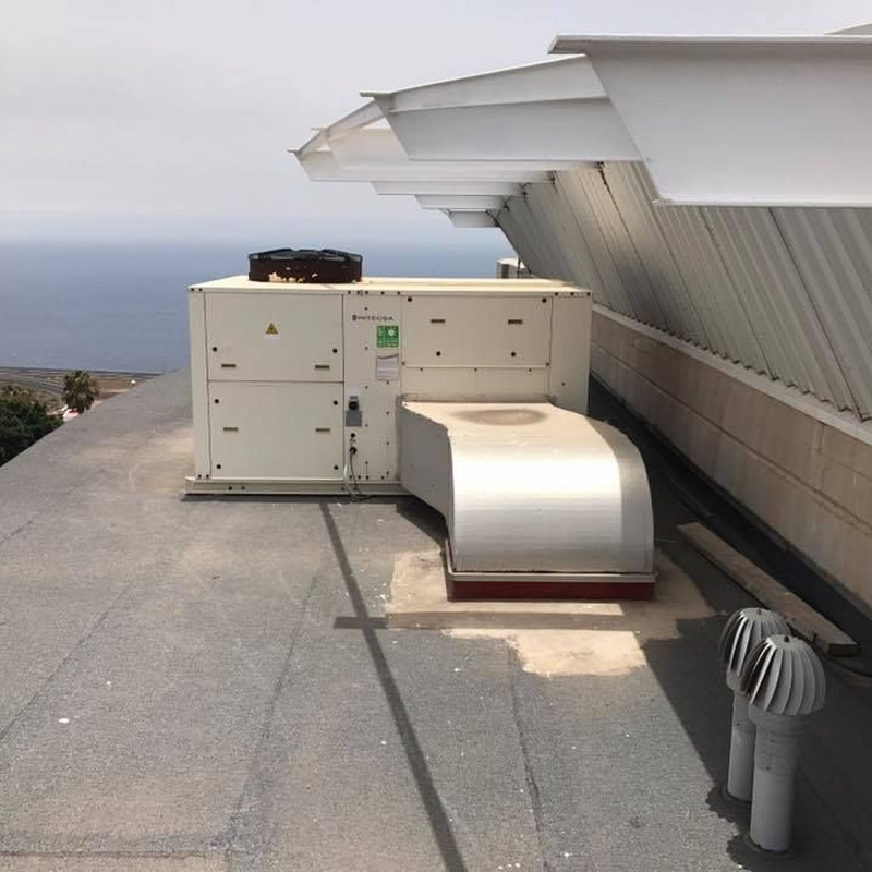 Reparación de climatización de oficinas
