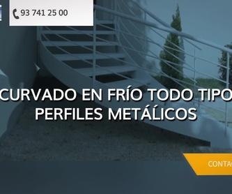 Curvados metálicos en Argentona   Corbats, Metàl.lics i Mecanitzats, S.L.