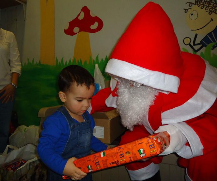 Viene Papá Noel a vernos