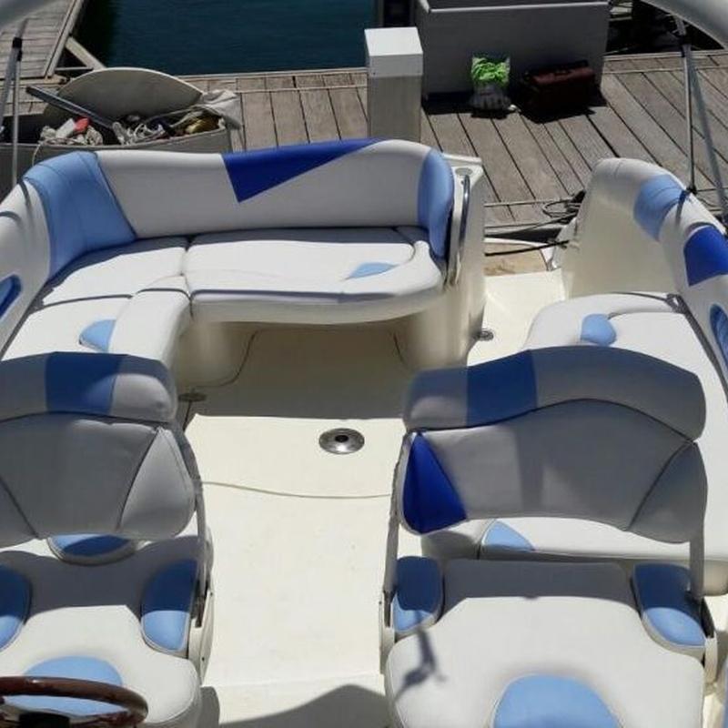 Tapizado de embarcaciones: Servicios de Tapicería Colber