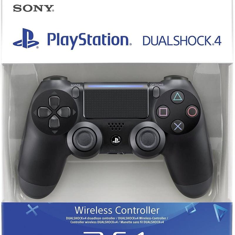 Sony - Dualshock 4 V2 Mando Inalámbrico, Color Negro V2 (PS4): Catalogo de Ocasiones La Moneta