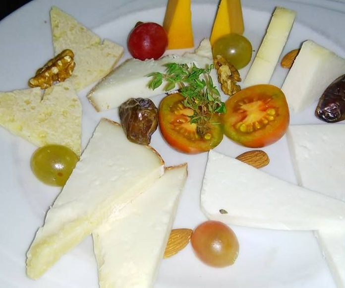 Variedad de quesos canarios