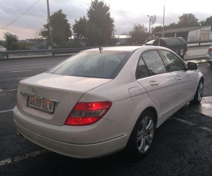 MERCEDES-BENZ C 220 CDI AVANTGARDE AUTOMATICO: Compra venta de coches de CODIGOCAR