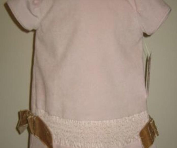 Vestido micropana rosa y beige: Catálogo de Ste Odile Decoración