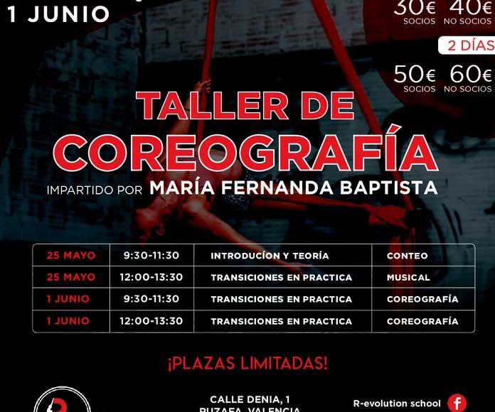 TALLER DE COREOGRAFÍA TELAS AÉREAS