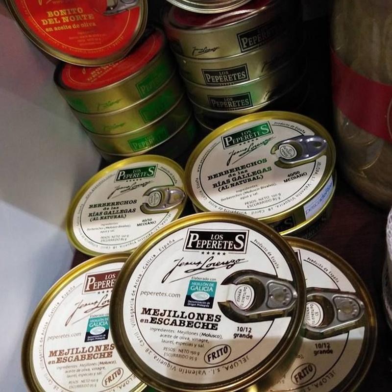 Conservas: Productos y Servicios de Degustos Charcuteria Tradicional