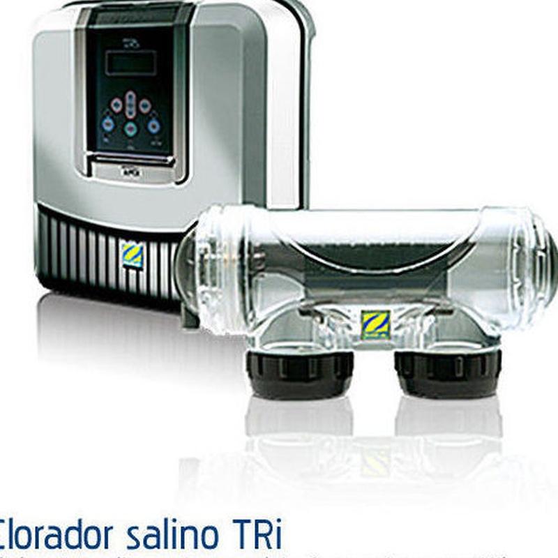 Clorador TRi: Productos y servicios de Piscinas Castilla - Construcción y Rehabilitación